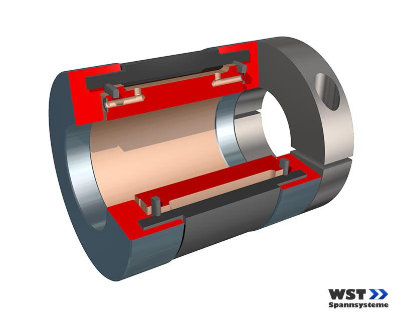 WST Standard Spannkupplung ADX
