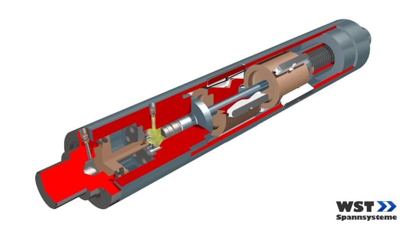 Expansion shaft LZW