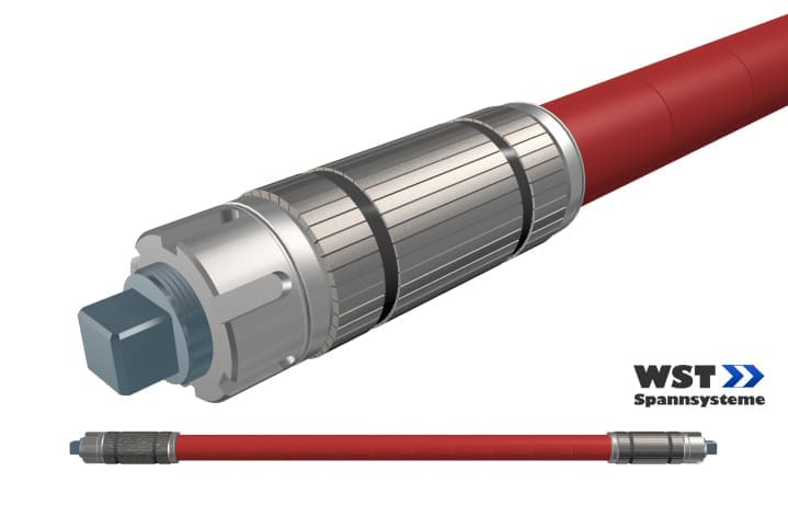 Expansion shaft SWS