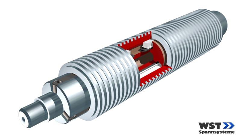 Expansion shaft UMW